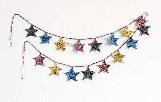 Ravelry: Theiae's Mini Star Garland