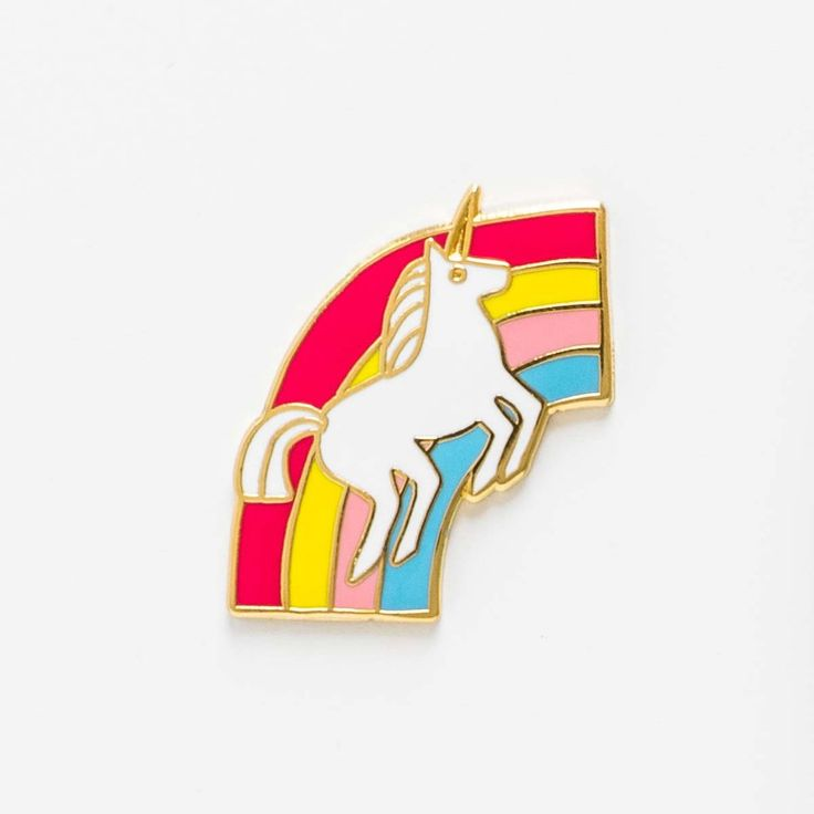 Unicorn Pin + Card - Made of Sundays