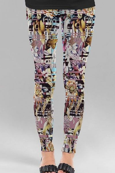 Printed Cotton Leggings Online