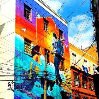 Uco + Arts: Valparaíso.Chile.