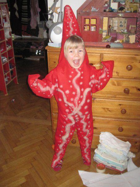 ~ Ladybeetle at work ~: starfish costume and Pippi Longstocking 2009