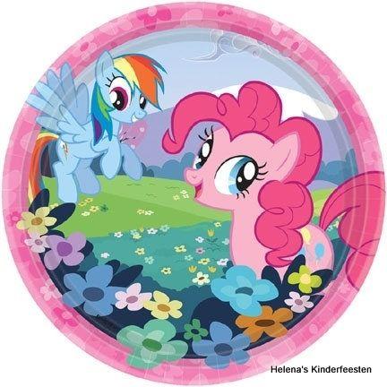 PP My Little Pony feest borden
