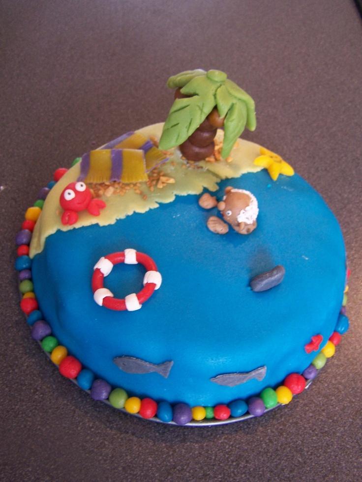 onbewoondeiland taart
