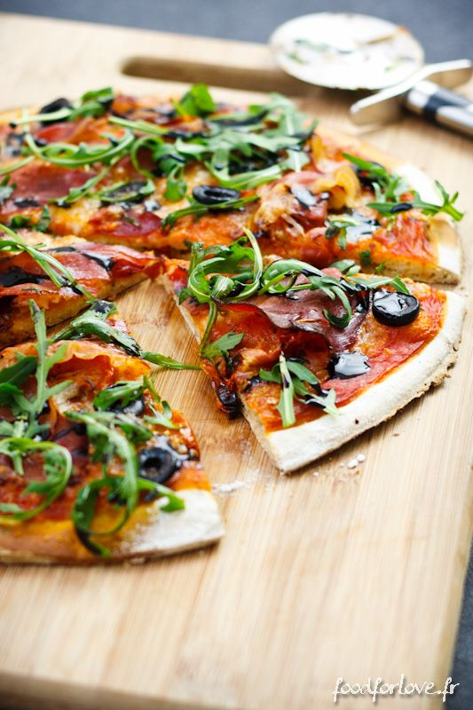 Photo Pizza, Sans Gluten, sans lait ( => contient oeufs)