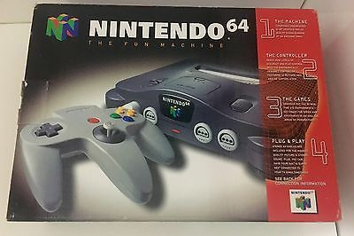 For sale: COMPLETE N64 IN BOX; Two Controllers And Battletanx Included; Nintendo 64;