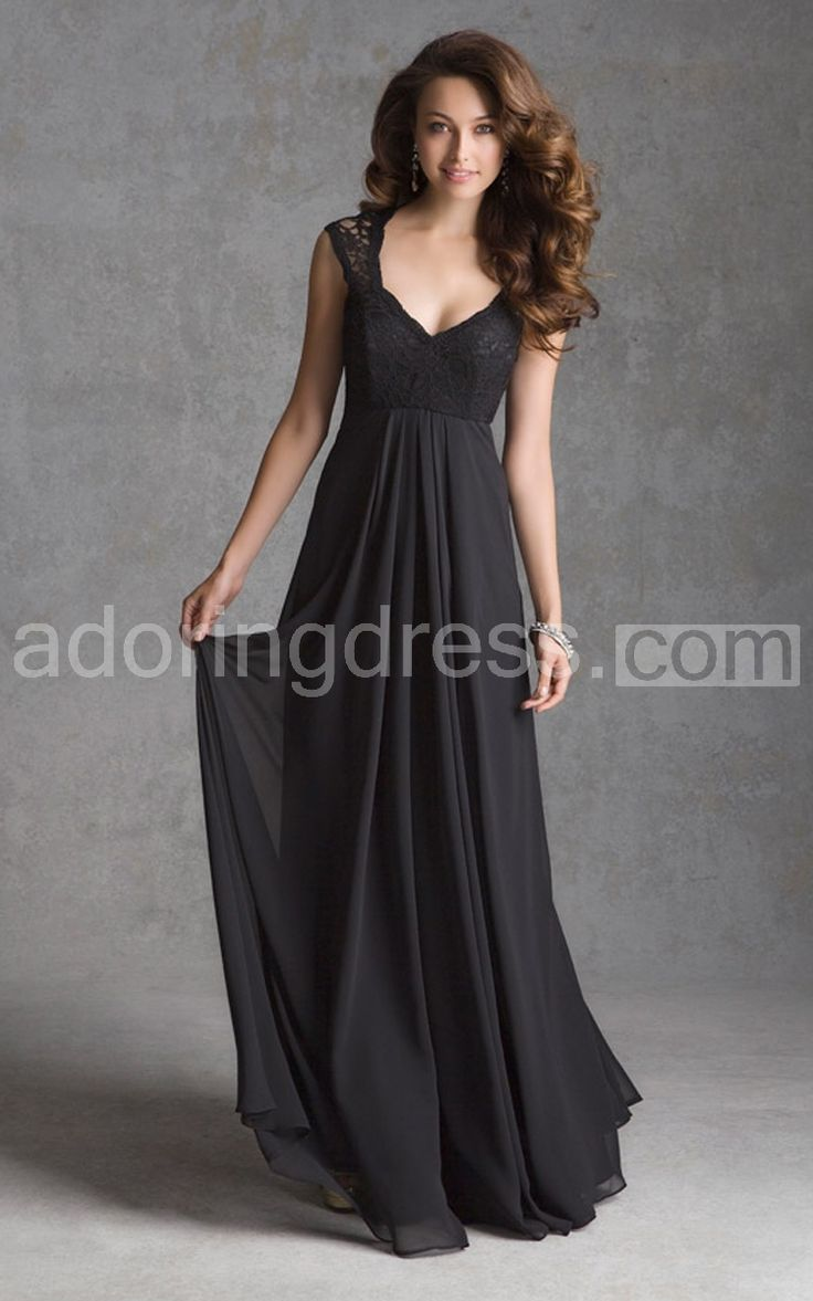 59 best for my bridesmaids images on pinterest bridesmaid ideas mori lee bridesmaids 693 long lace and chiffon bridesmaid dress with cap sleeves and illusion back designed by madeline gardner available in all lace color ombrellifo Images