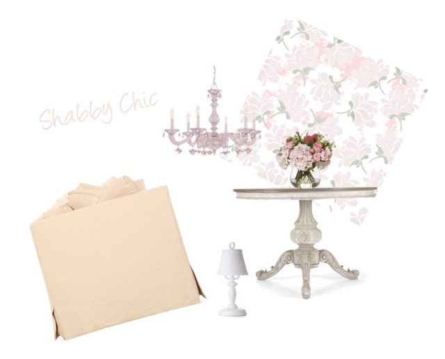Shabby Chic by albaperezvte on Polyvore featuring interior, interiors, interior design, hogar, home decor, interior decorating, Shabby Chic and Moooi