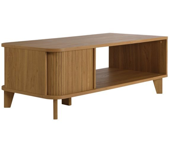 Buy Hygena Jabara 1 Shelf Coffee Table - Oak Effect at Argos.co.uk - Your Online Shop for Occasional and coffee tables, Coffee tables, sideboards and display units, Home and garden.