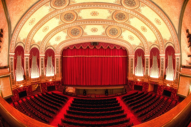 Taken at the Temple Theater in Saginaw, Michigan by bmartuch417