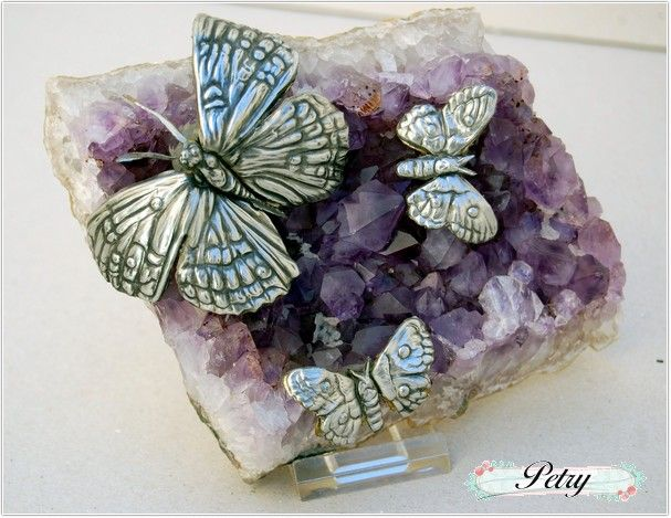 Mariposas estaño. www.petry.es