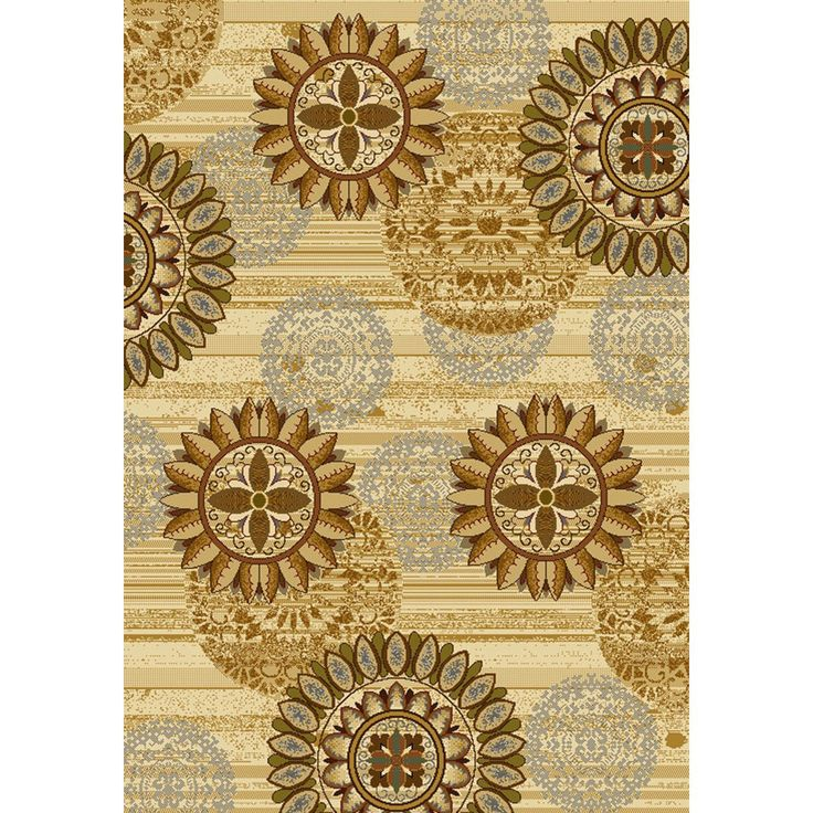 This beautiful Debora Area Rug utilizes warm colors and has lovely medallion design that will compliment both contemporary and transitional decorating themes.