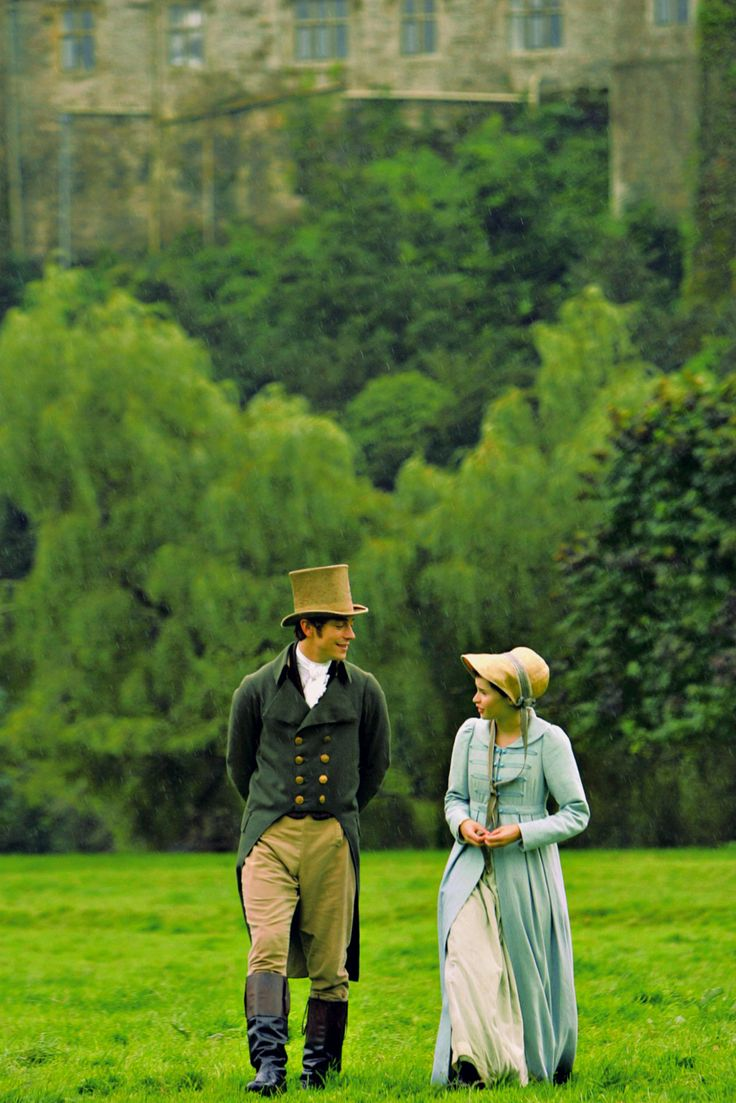 Such a sweet and romantic movie. I loved it!  Northanger Abbey   ~Henry Tilney & Catherine Morland ~