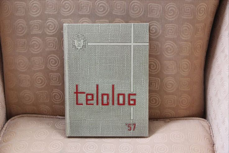 "St. Benedict's College Prep Yearbook Class of 1957 ""Telolog"" Newark NJ"