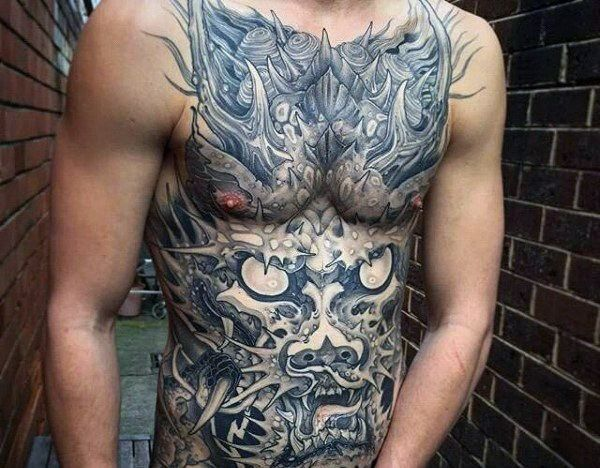 150 Coolest Stomach Tattoos For Men Women Tattoos For Guys