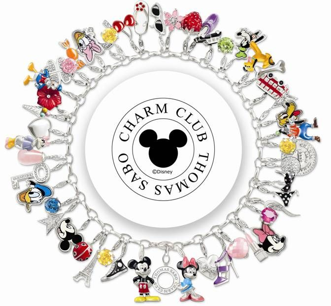 I didn't find the one that is my favourite, a football one, but this disney is great too. Charm Club Thomas Sabo