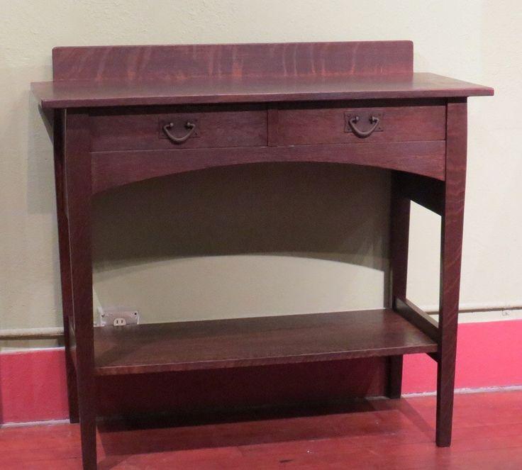 Gustav Stickley 2 Drawer Server Designed By Harvey Ellis | California  Historical Design · Craftsman FurnitureMission ...