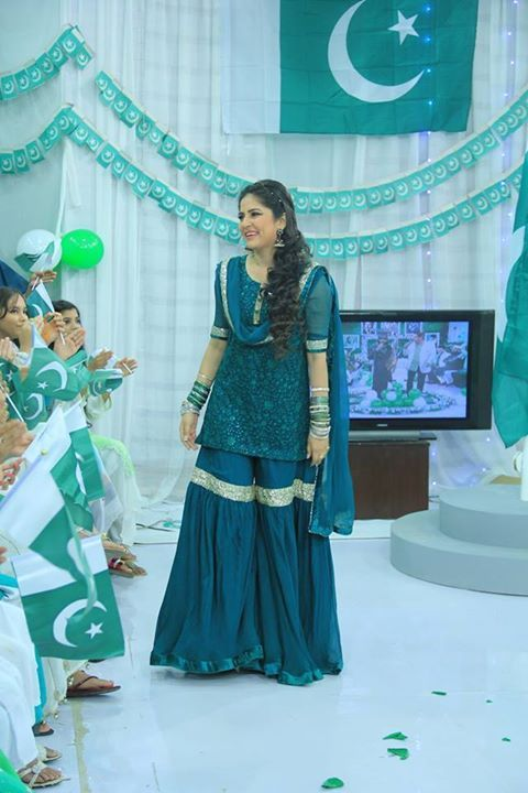 Sanam Baloch Independence Day Morning Show | Pakistani ...