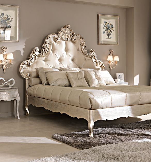 Rococo Luxury Bed Furniture Bed Pinterest Cats