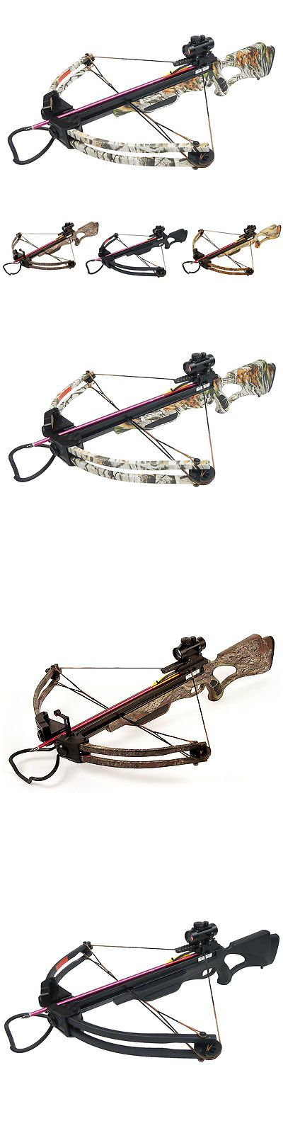 Crossbows 33972: 175 Lb Black Camo Compound Crossbow Bow +Red Dot Scope +All Accessories 150 80 -> BUY IT NOW ONLY: $179.99 on eBay!