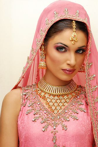 "Bollywood, ""The beauty of India"" bejeweled in pink."