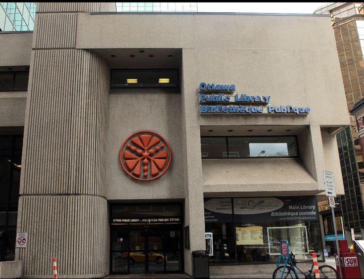 Ottawa Public Library, main branch