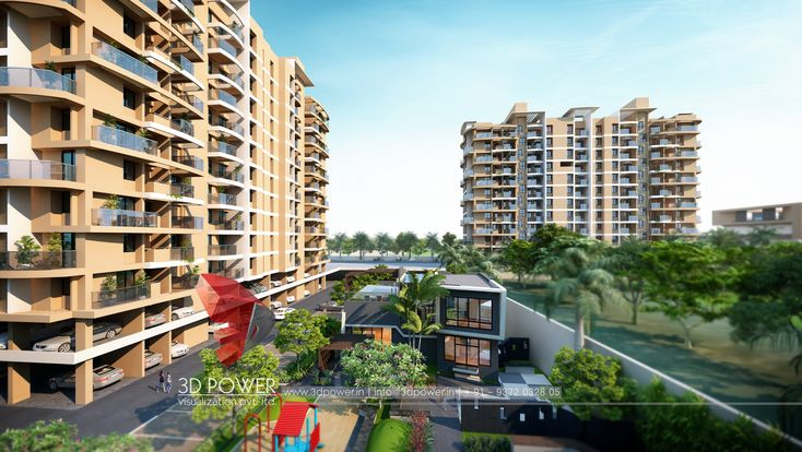 Apartment Exterior Design Architecture Exterior Design Apartments Exterior 3d Architectural Rendering