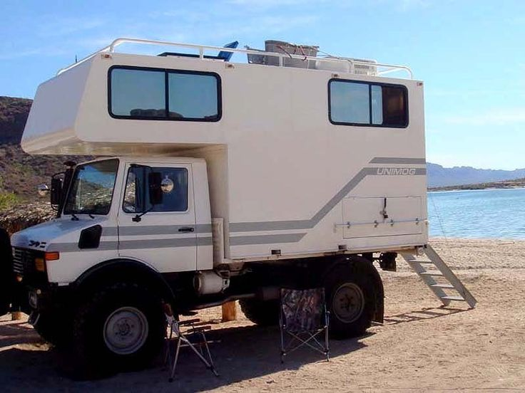 Unimog u1300l campera i would love to retire and travel for Mercedes benz campervan usa