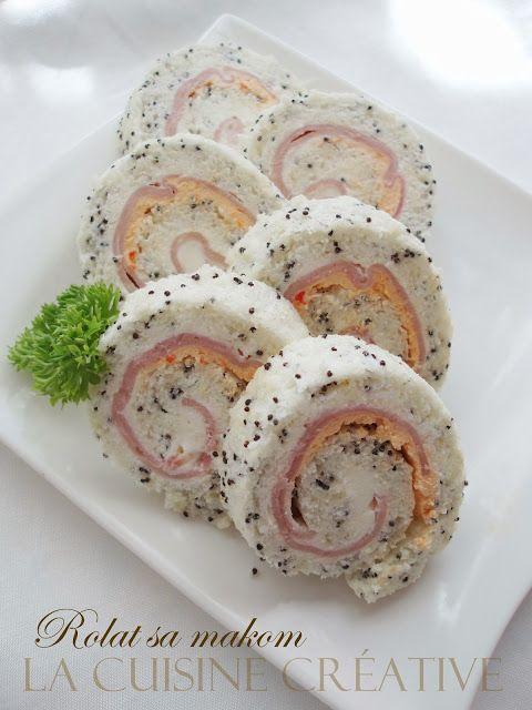 La cuisine creative: Slani rolatići - ideje za ukusno predjelo