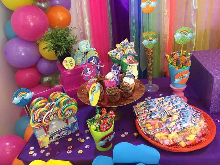 Candy buffet equestrias party