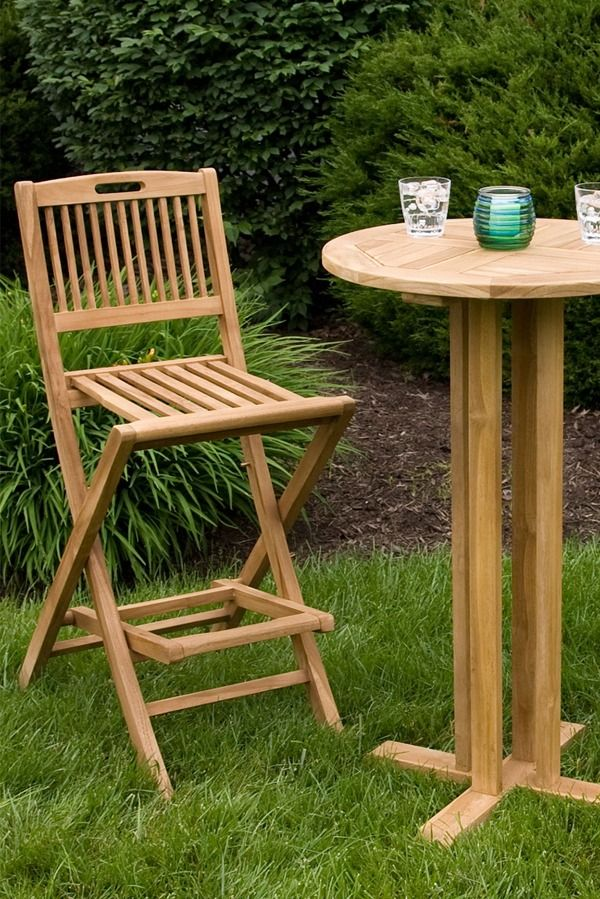 Teak Patio Furniture Why Is It The Best Choice Brand New Teak Furniture Will Be Golden Brow In 2020 With Images Teak Patio Furniture Wood Patio Furniture Diy Patio Furniture