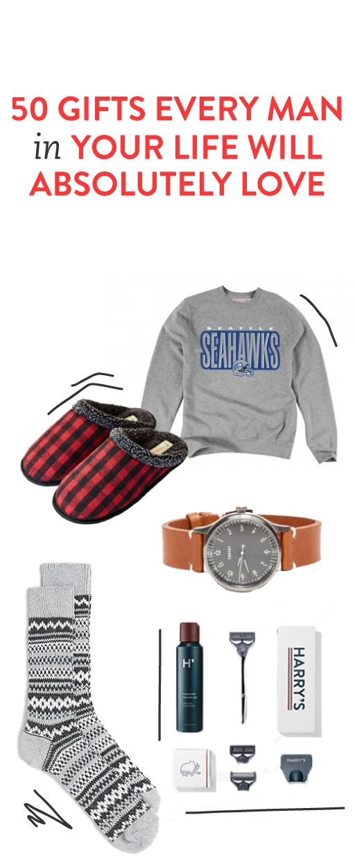 50 gifts every man in your life will love #holiday #christmas #giftideas