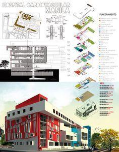 Diseño 8; Arquitectura Hospitalaria on Behance