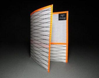 Items similar to Durable Sailcloth Folder - Cloth School Folder - Two Pocket Folder - Blue on Etsy