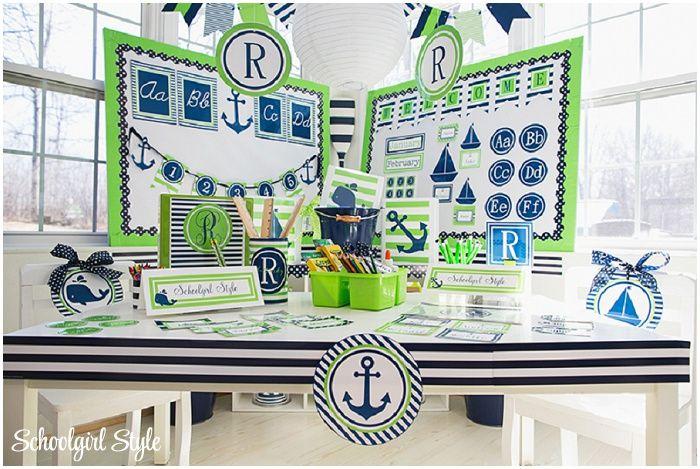 Classroom Decor Nautical : Ideas about nautical bulletin boards on pinterest