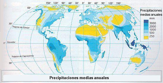 mapa lluvias en chile - Buscar con Google