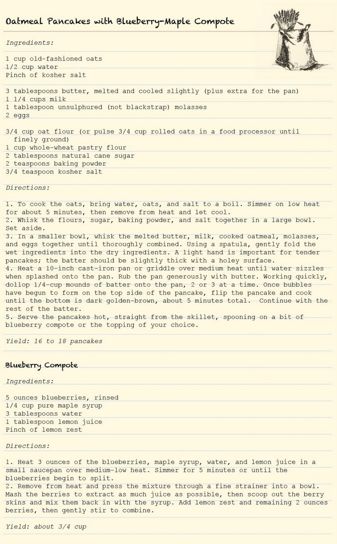 blueberry compote | Yummo | Pinterest