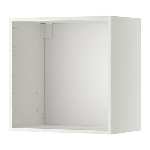 METOD Veggskapstamme - hvit, 60x37x60 cm - IKEA 3 stk, med hvit dør