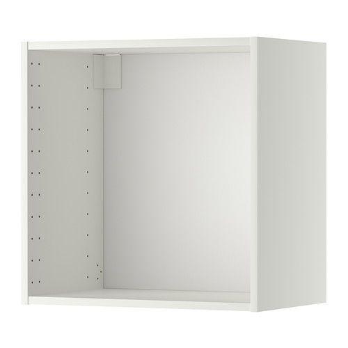 METOD Veggskapstamme - hvit, 60x37x60 cm - IKEA 2 stk, uten dør