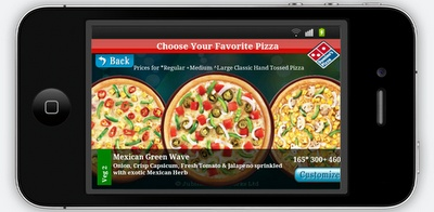 dominos pizza vouchers with new mobile app