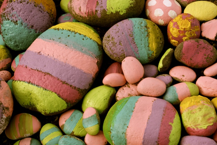 A white bowl filled with these at Easter time would be so pretty.