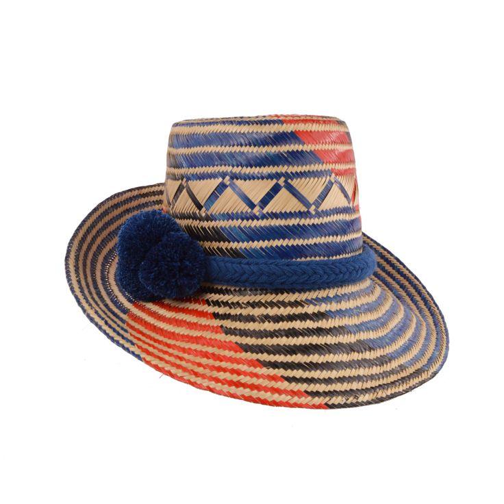 Wayuu Hat from WMB.  #wayuu #hats #colombianhats #wayuuhat #summerhat