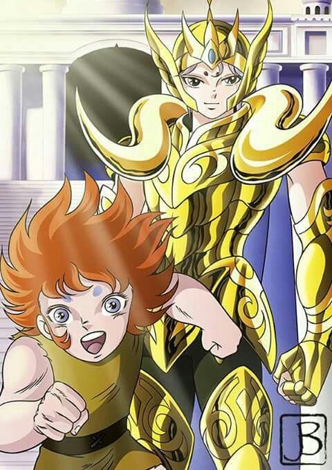 Mu Aries & Kiki Saint Seiya