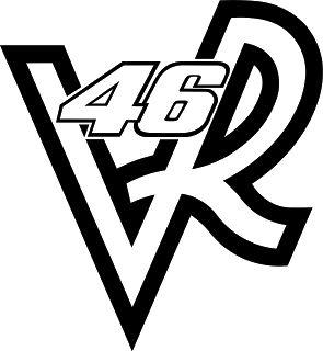DECORA CON VINILO: Logo Valentino Rossi