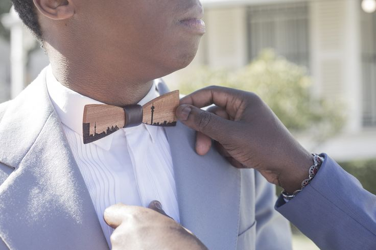 A limited edition bow tie which is made from upcycled mahogany wood and designed by true Dandy gentlemen to share and pass on an inspiring legacy. But this is not the only thing, the LouxMac Legacy bow tie supports the TH children's foundation by $15 per sold piece to give disadvantaged children a chance to go to school!