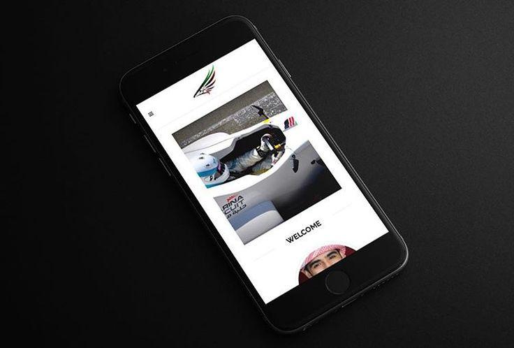 Responsive website for UAE rally driver Mohamed Al Mutawaa as viewed on the iPhone 6  #webdesign #webstagram #agency #branding #design #designer #adobe #photoshop #illustrator #graphicdesign #uidesign #uxdesign #uxdesigners #wordpress #design #userexperience #ui #ux #graphic #graphics #flatdesign #pixel #webdesigner #website #creative #html #css #javascript #dubai #uae