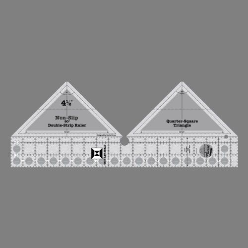 Creative Grids 90 Degree Double Strip Quilting Ruler Make strip ... : creative grid rulers for quilting - Adamdwight.com