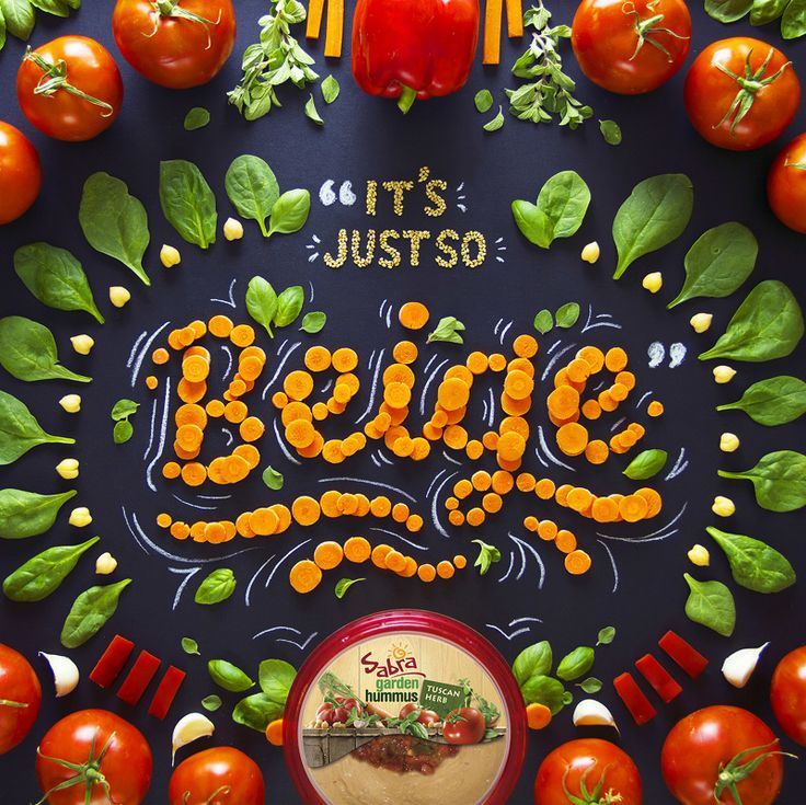SABRA DIPPING CO. - Becca Clason - Hand-Lettering & Stop-Motion