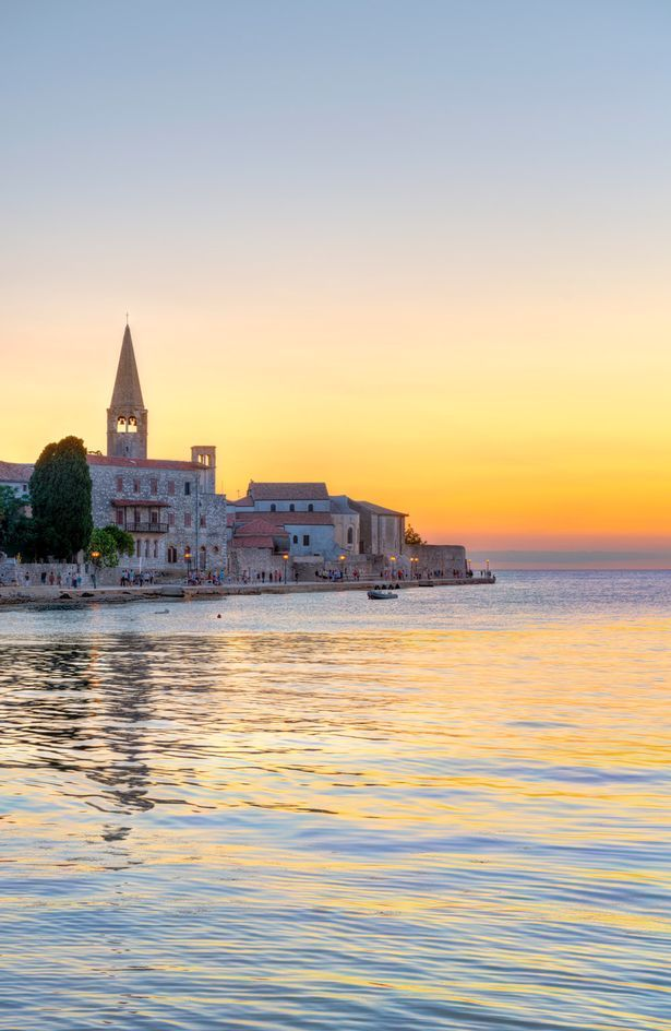 More family holiday fun in Istria from the Daily Mirror | Sunset over #Porec