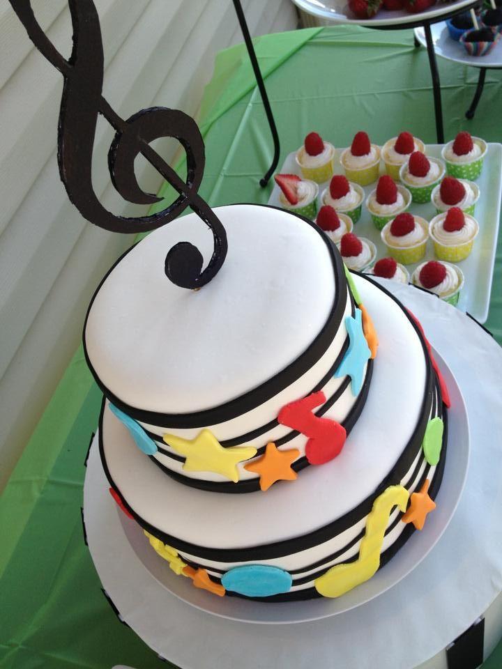 Cake Decorations Music Theme : Music theme cake music cakes Pinterest Theme Cakes ...