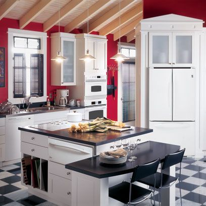Best 1000 Images About Black And White Checkered Kitchens On 400 x 300